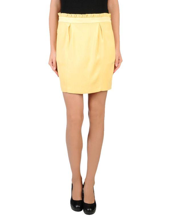 黄色 PINKO BLACK 超短裙