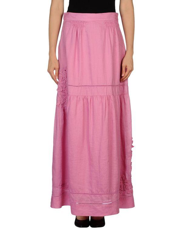 粉红色 SCERVINO STREET 长裙