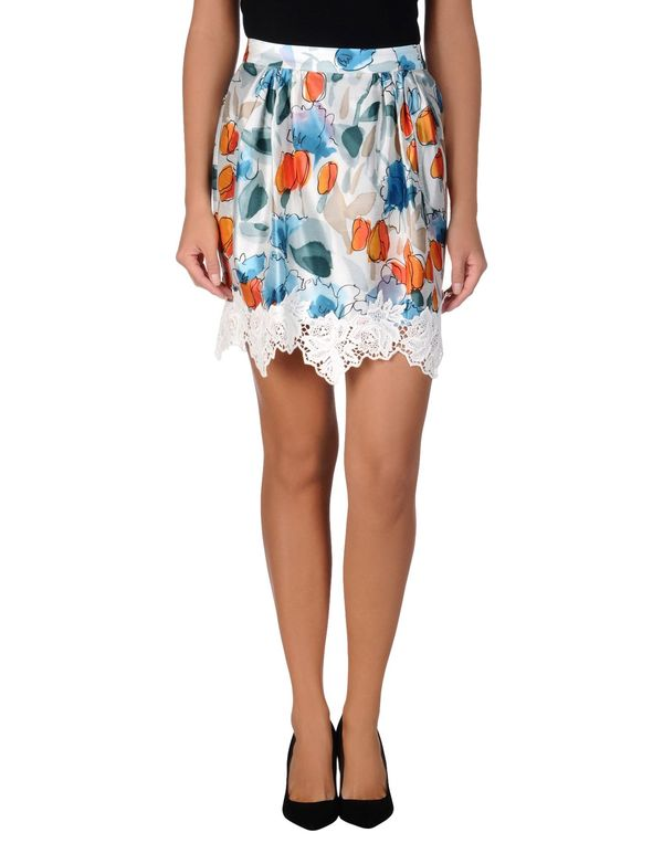 橙色 DOLCE & GABBANA 及膝半裙