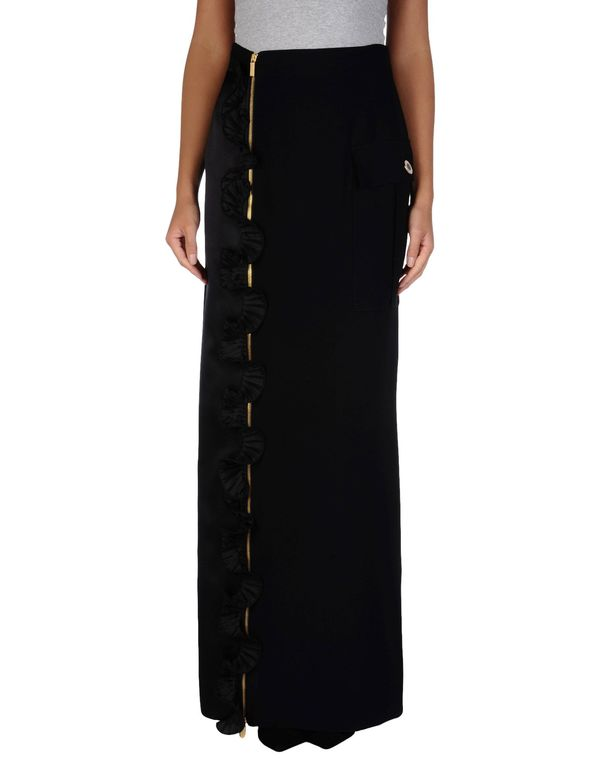 黑色 EMANUEL UNGARO 长裙