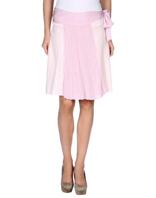 粉红色 ARMANI JEANS 及膝半裙
