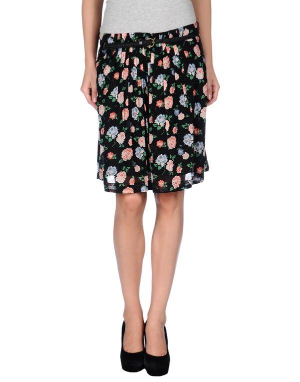 黑色 KOOKAI 及膝半裙