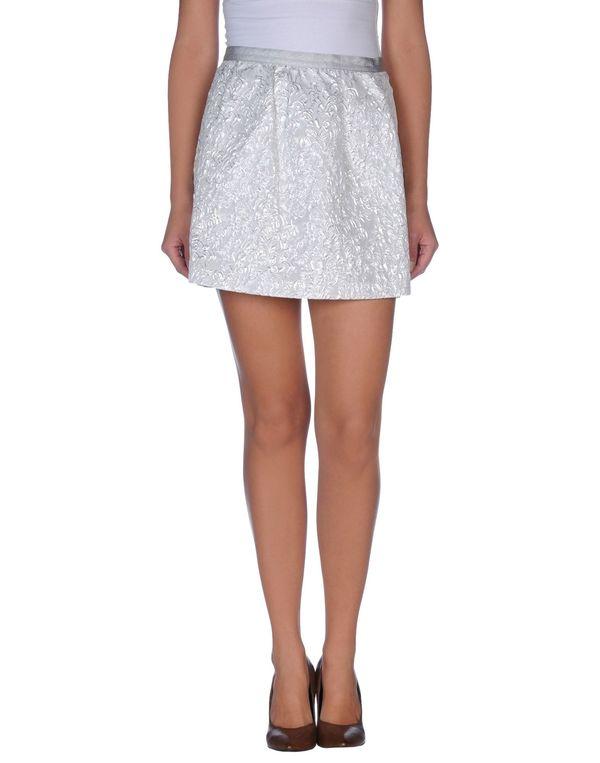 淡灰色 PINKO BLACK 超短裙
