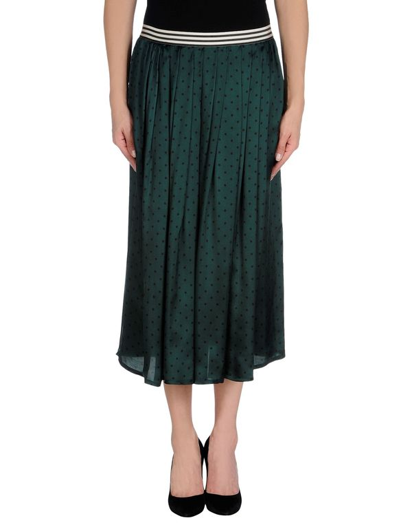 孔雀绿 SUOLI 半长裙