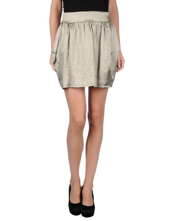 灰色 LIU •JO 超短裙