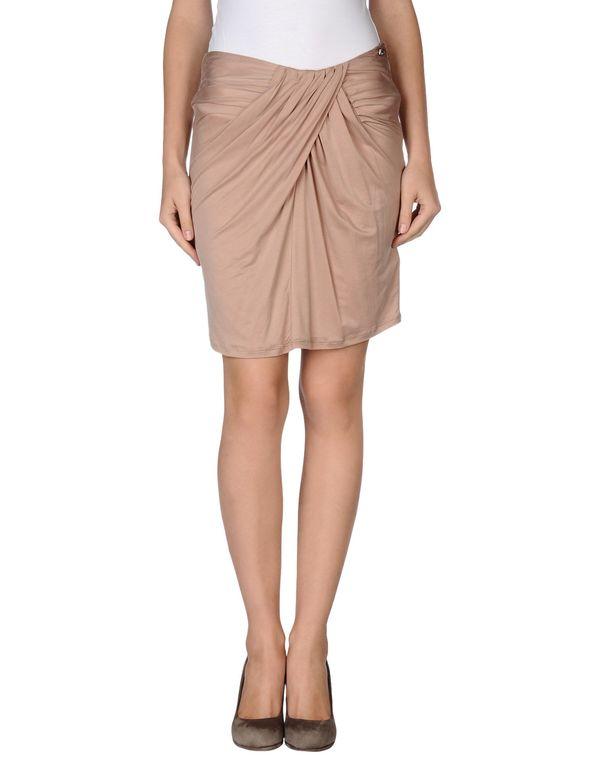 浅棕色 LIU •JO 及膝半裙
