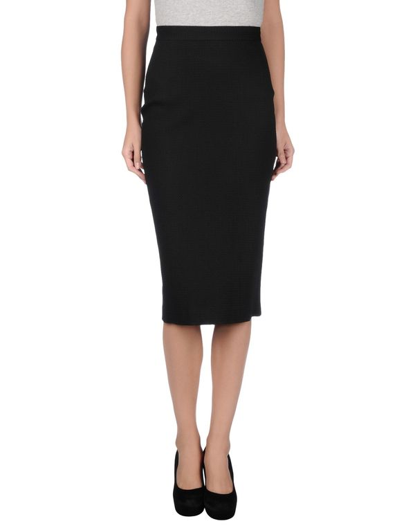 黑色 HACHE 半长裙