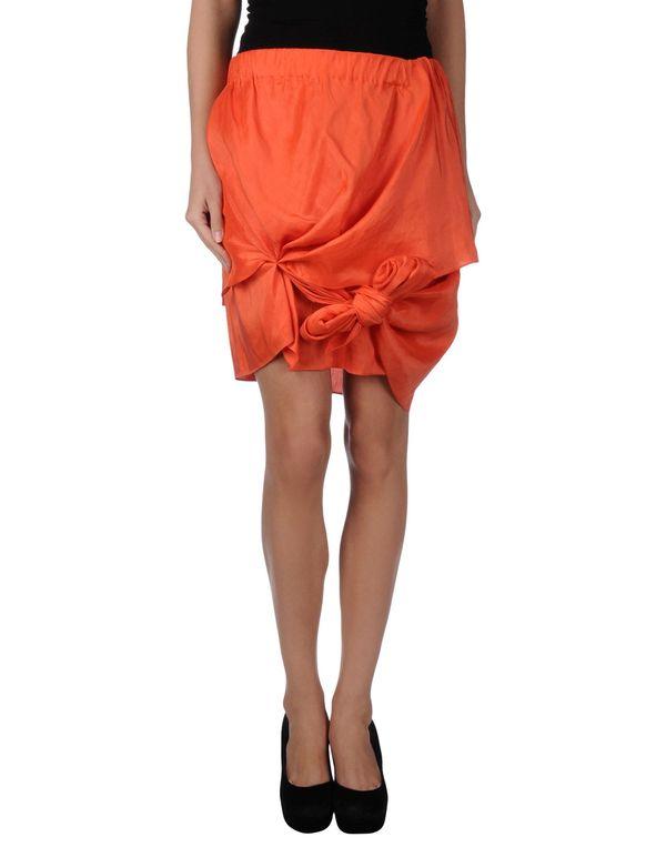 橙色 ACNE STUDIOS 及膝半裙