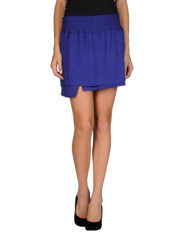紫色 ACNE STUDIOS 超短裙