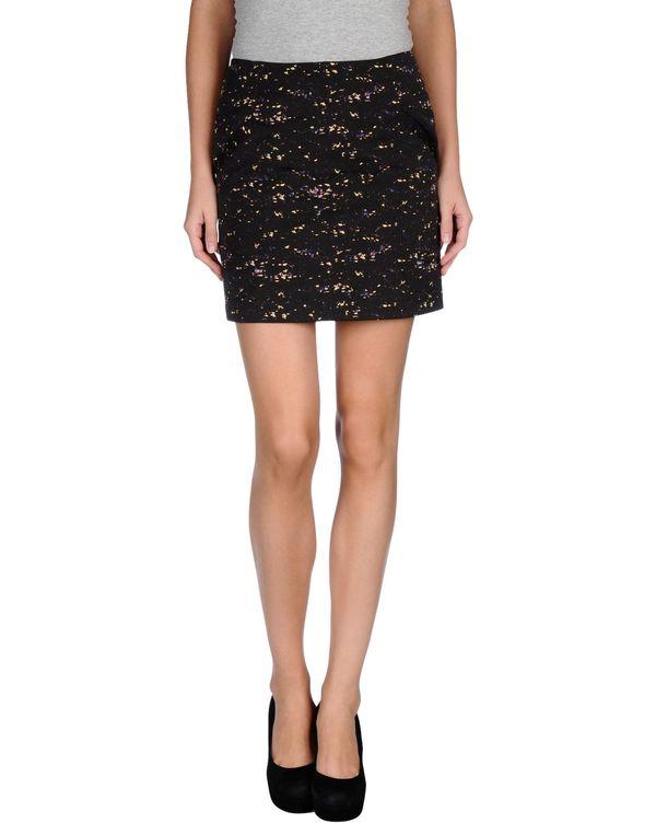 黑色 CACHAREL 超短裙
