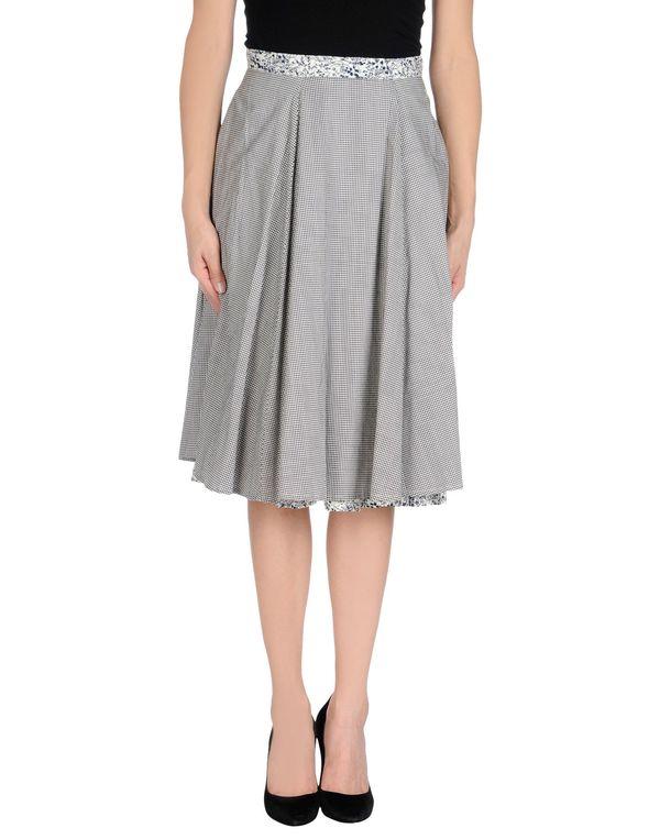 黑色 WOOLRICH 及膝半裙
