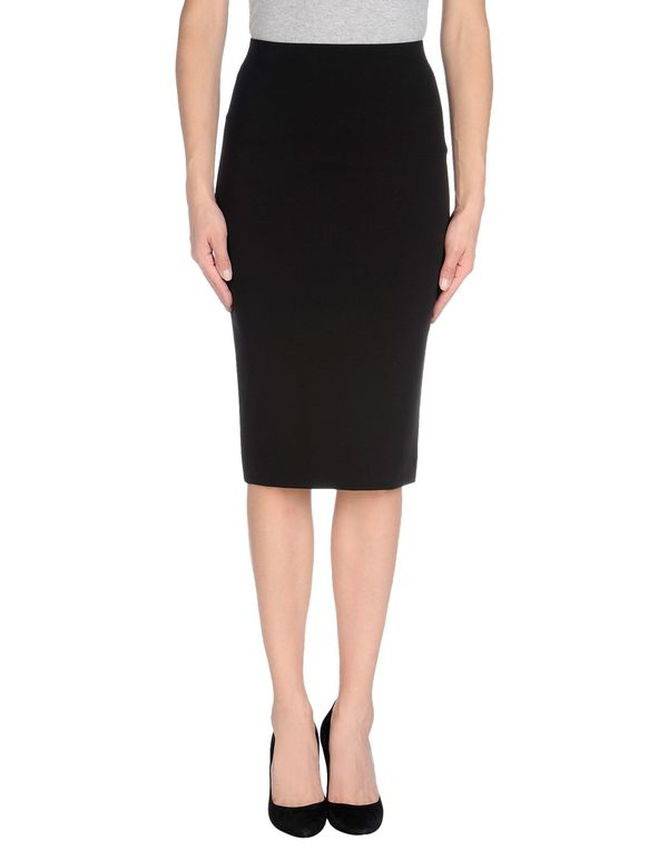 黑色 SPACE STYLE CONCEPT 及膝半裙