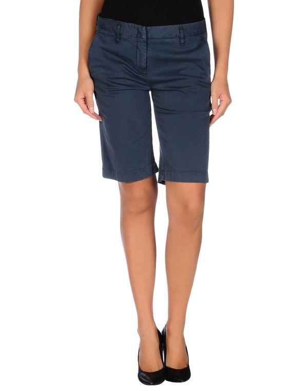 石青色 ASPESI 百慕达短裤