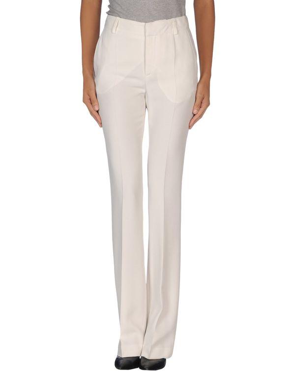 白色 EMANUEL UNGARO 裤装