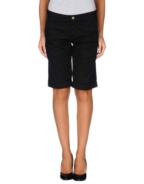 黑色 CARHARTT 百慕达短裤