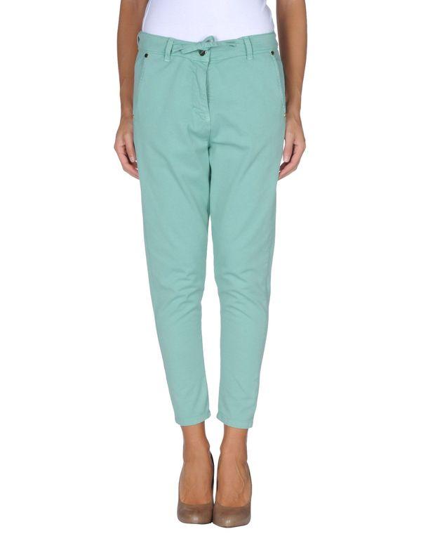 浅绿色 TWIN-SET SIMONA BARBIERI 裤装