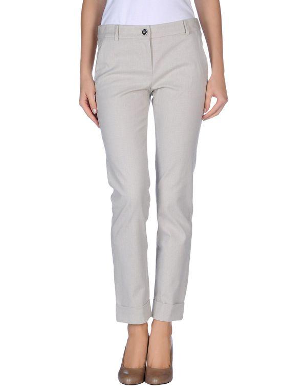 淡灰色 EMPORIO ARMANI 裤装
