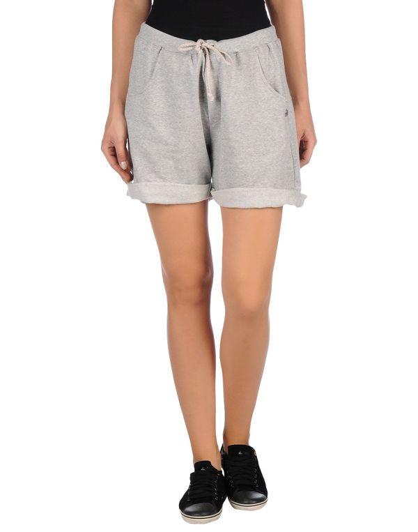 淡灰色 SCEE BY TWIN-SET 百慕达短裤