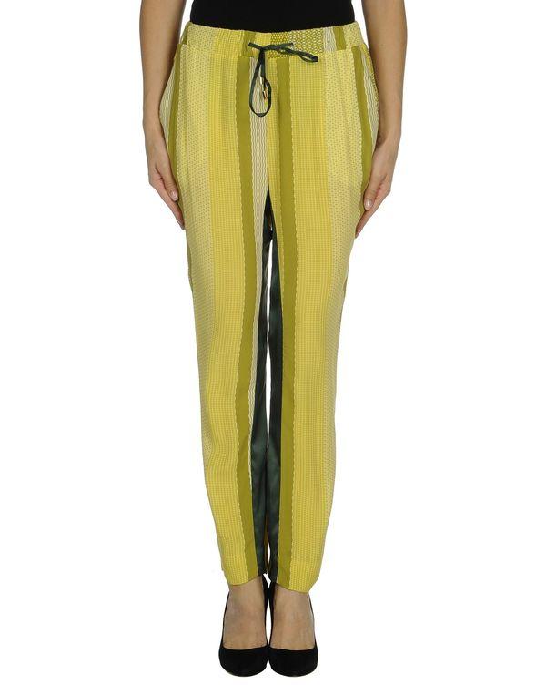 荧光绿 BRIAN DALES 裤装