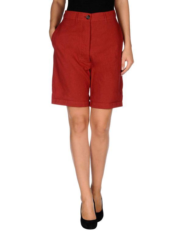 红色 SEMI-COUTURE 百慕达短裤