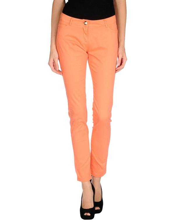 橙色 BLUMARINE 裤装