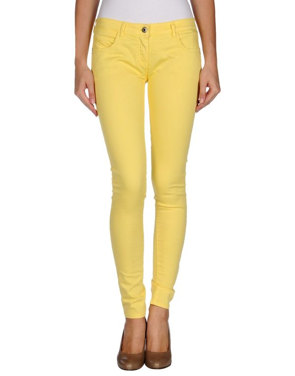 黄色 PATRIZIA PEPE 裤装