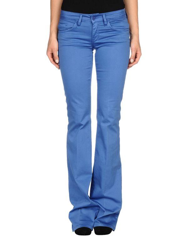 蓝色 LIU •JO JEANS 裤装