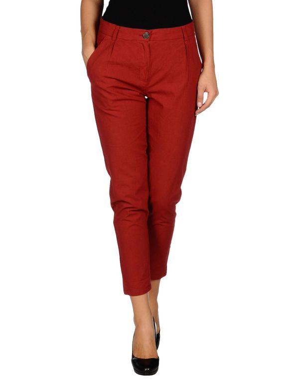 砖红 SEMI-COUTURE 裤装