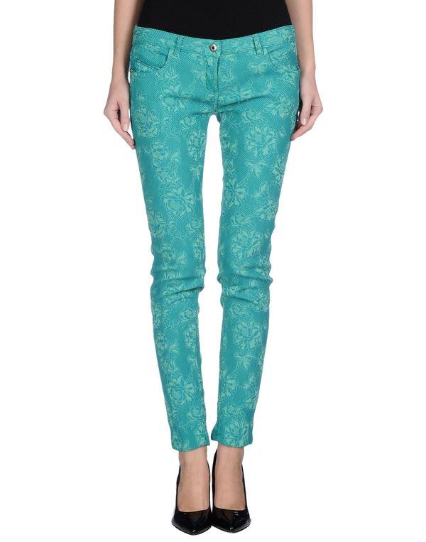 蓝绿色 PATRIZIA PEPE 裤装