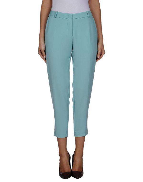 蓝绿色 ANNARITA N. 七分裤