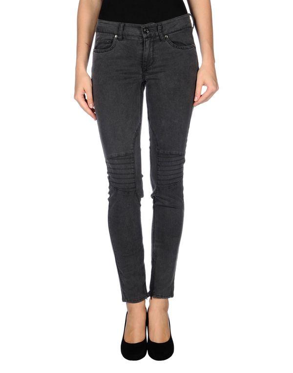 铅灰色 LIU •JO JEANS 牛仔裤