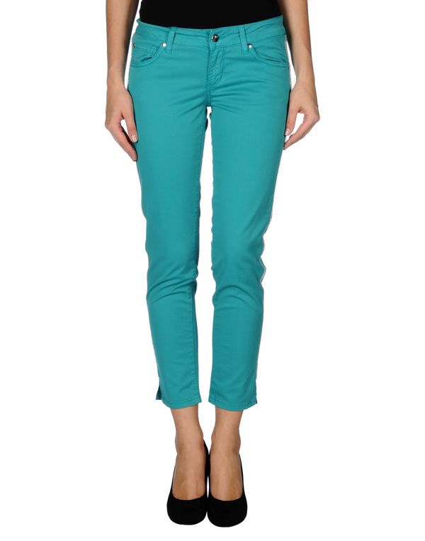 蓝绿色 LIU •JO JEANS 裤装
