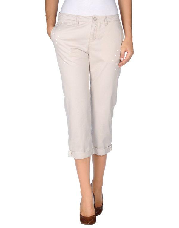 淡灰色 WOOLRICH 七分裤