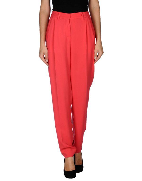 珊瑚红 VIONNET 裤装