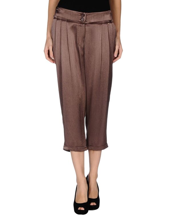 深棕色 ANNARITA N. 七分裤