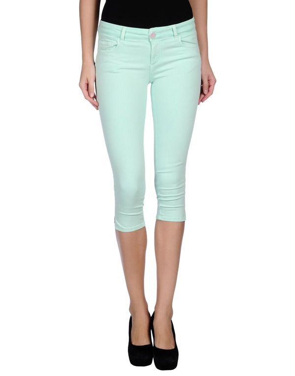 浅绿色 TWIN-SET SIMONA BARBIERI 七分裤