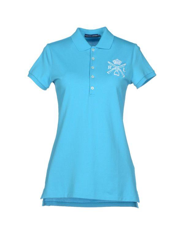 中蓝 RALPH LAUREN Polo衫