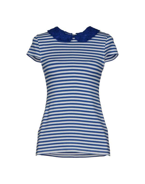 蓝色 ALICE+OLIVIA T-shirt