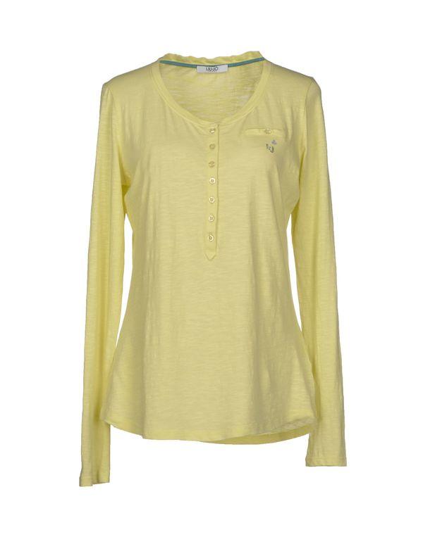 荧光绿 LIU •JO JEANS T-shirt