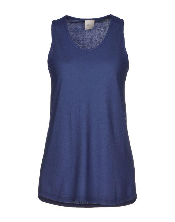 蓝色 ...À_LA_FOIS... T-shirt