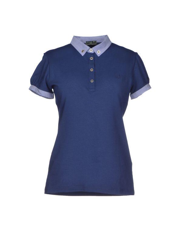 蓝色 FRED PERRY Polo衫