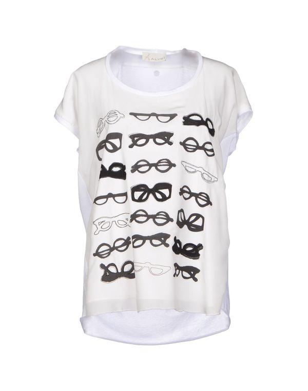 白色 ALYSI T-shirt