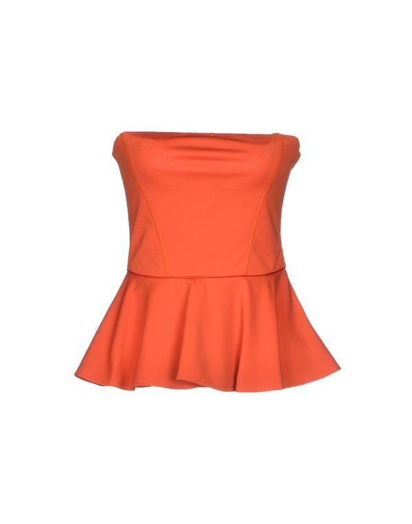 橙色 PINKO BLACK 抹胸