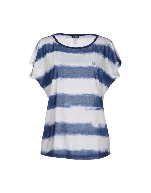 蓝色 ARMANI JEANS T-shirt