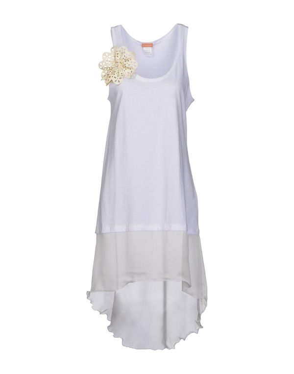 白色 MACRÍ 上衣