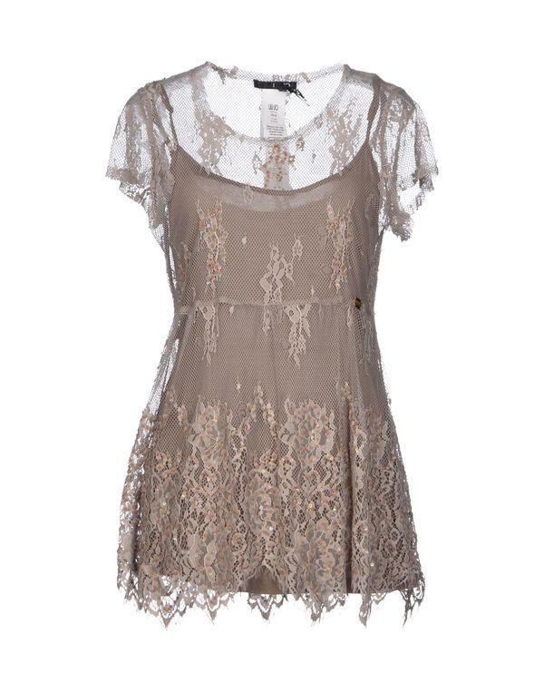 卡其色 LIU •JO 女士衬衫
