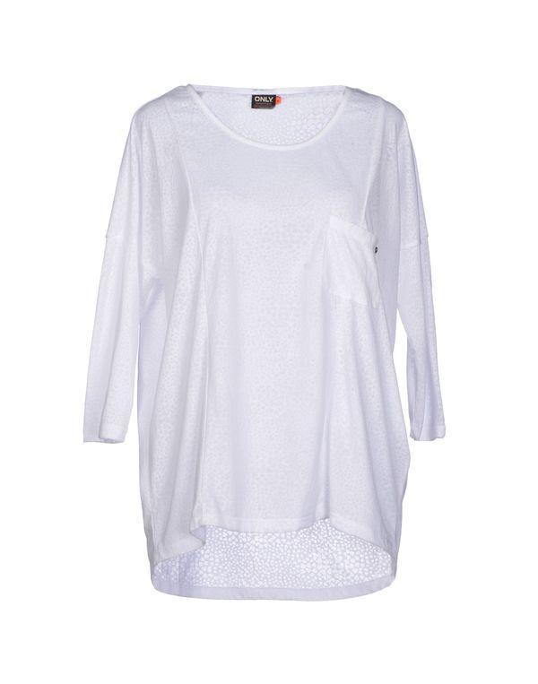 白色 ONLY T-shirt