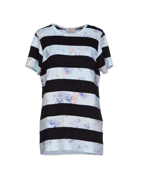 天蓝 CALLA T-shirt