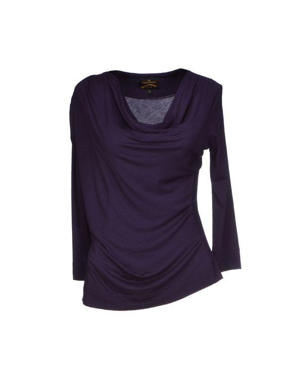 紫色 VIVIENNE WESTWOOD ANGLOMANIA T-shirt