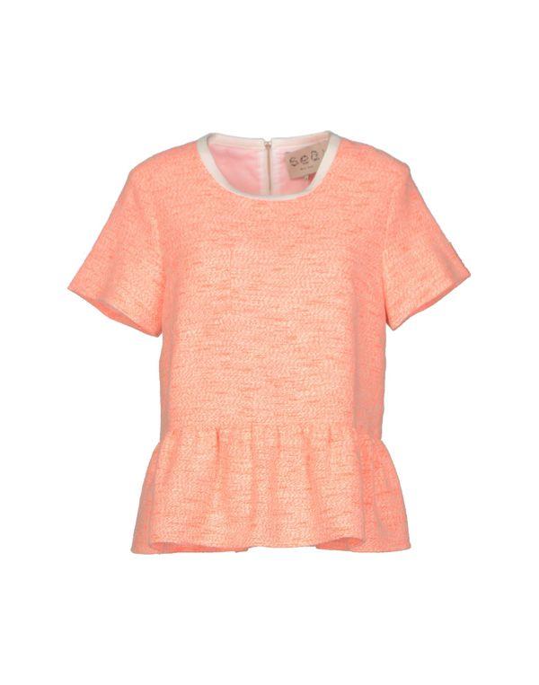 珊瑚红 SEA 女士衬衫